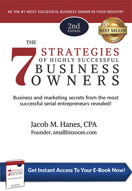 7 Strategies of Highly Successful Business Owners Book Cover, Buy Now